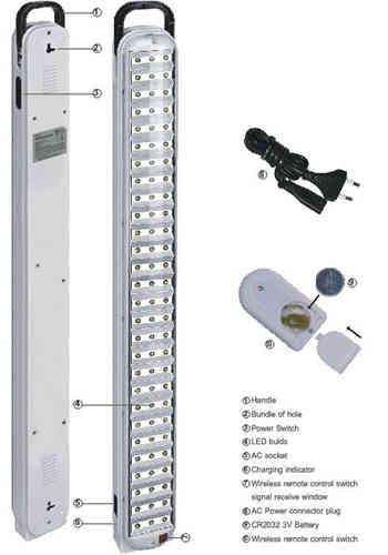 LED Lampe Akku für Garage, Auto, Camping 105 LED´s Ladekabel und ...